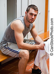 Portrait of a sports student
