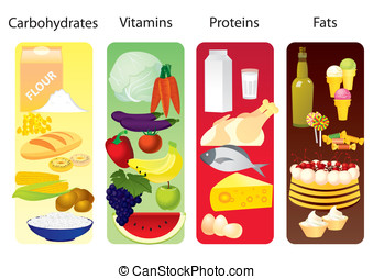 Food concept - Concept which divides all products in 4...