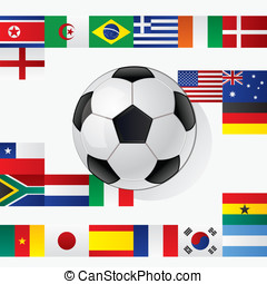World cup - Concept for World championship in football