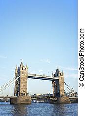 torre, Puente, londres, inglaterra