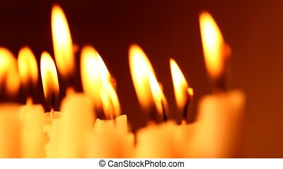 Candle - Close up of Candle