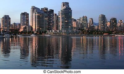 Waterfront Urban Highrise Buildings - Waterfront Urban...