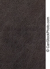 Dark brown leather background - Dark brown natural leather...
