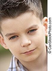 Portrait Of Pre-Teen Boy