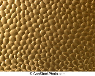 Textured Gold Metallic Surface