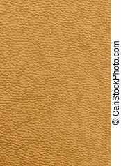 Yellow leather background - Yellow or light brown natural...