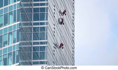 Window washers - diffrent zoom scale