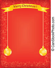 red christmas background - red merry christmas background