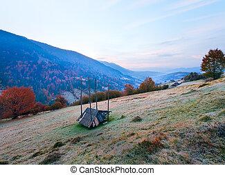 Daybreak in mountain