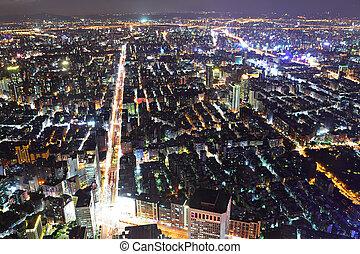 taipei city night scene