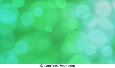 Green defocused bubbles