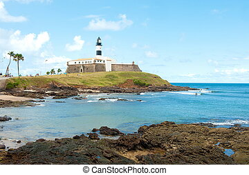 Salvador da Bahia - Barra lighthouse, Salvador - Bahia -...