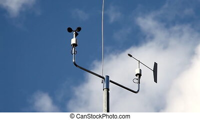 Weather station - Measurement instruments of a weather...