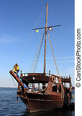 piratical frigate - old piratical frigate
