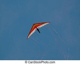 Hang Glider - Dan Buchanan Hang Glider demonstration at the...