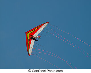 Hang Glider - Dan Buchanan Hang Glider demonstration at the...