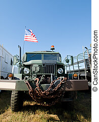 Military Vehicle - Military vehicle at the Rocky Mountain...