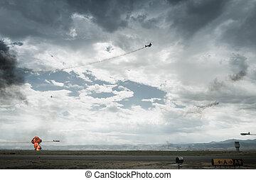 Pearl Harbor Reenactment
