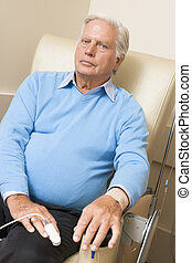 Portrait Of A Patient Being Monitored