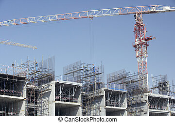 Construction Of Buildings In Dubai