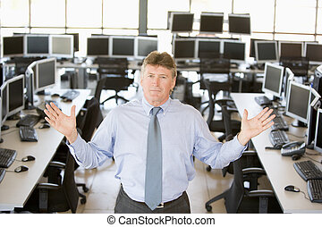 Portrait Of A Stock Trader