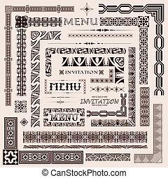 Border elements