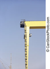 Dockside Crane At Dubai Port