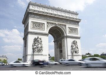 Arc de Triomphe,Paris,France