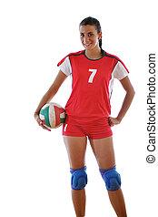 Gir, juego, voleibol