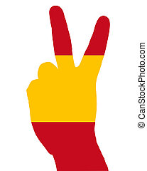 Spanish finger signal
