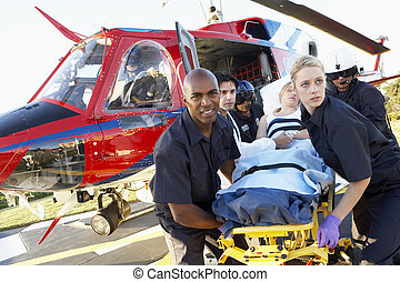 Medevac, Paramédicos, paciente, Descargar