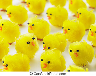 Abundance Of Easter Chicks