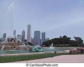 Buckingham Fountain Chicago - Chicago Buckingham Fountain...