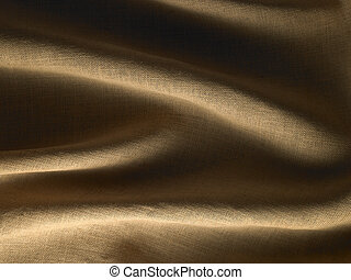 Hessian Textile Background
