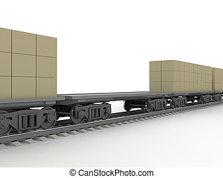 Rail transportations - Transportation of cargoes by rail