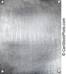 鋼, 盤子, 金屬, 背景