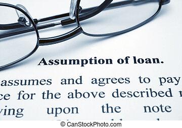 assumption of loan