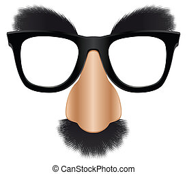 Groucho mask - A version of the classic disguise mask easily...
