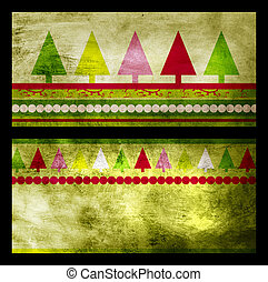 Christmas greeting card cover