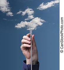 felhő, Kiszámít