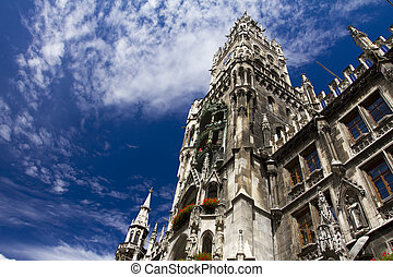 Marienplatz, Munich city center