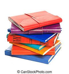 cuaderno, blanco, Plano de fondo