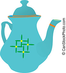 Beautiful teapot House ware