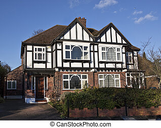 Tudor style house in London