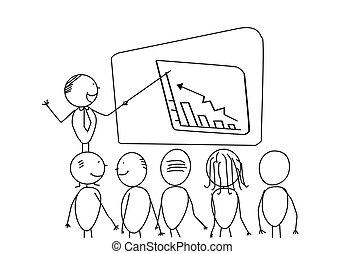boss presentation vector