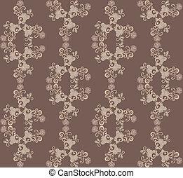 pattern in brown tones