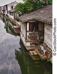 zhou zhuang, suzhou, china, chinese water village