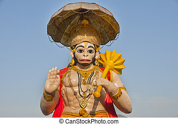 Indian mythological monkey God Hanuman