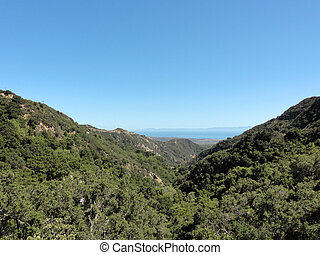 Santa Barbara Mountains - Taklushmon which means the...