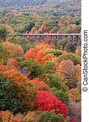 Popolopen Bridge - Verticle view of the Popolopen Bridge...